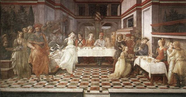 Filippo Lippi, Il convito di Erode