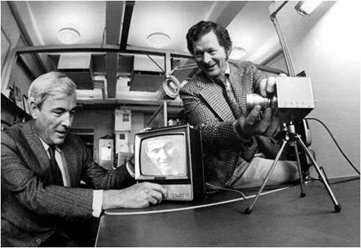 CCD y primera videocámara