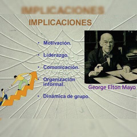 Escuela de las Relaciones Humanas/ Escuela Humanista de la Administración(1925-1935)