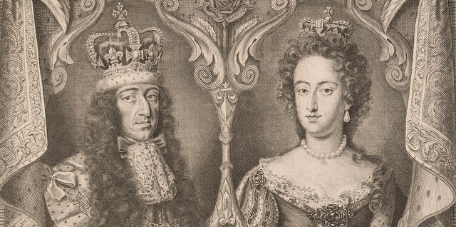 William and Marry become joint monarchs