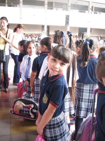 Mi primer día en la primaria