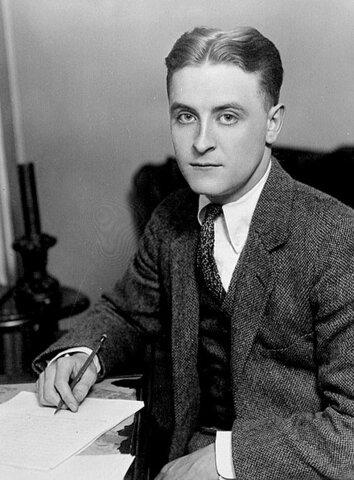 F. Scott Fitzgerald. (1896-1940).