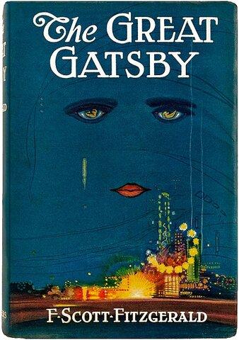 """El gran Gatsby"" por F. Scott Fitzgerald."