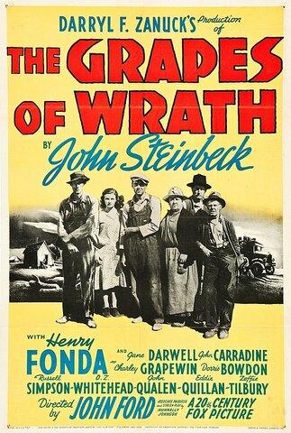 The Grapes of Wrath (Las Uvas de la ira) por John Ford.