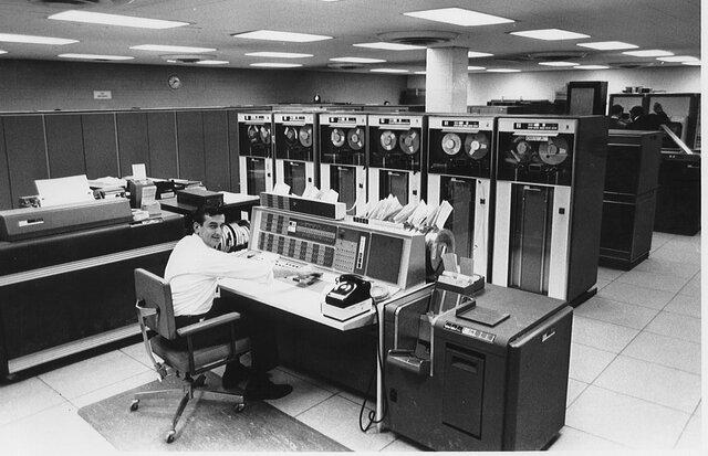 Internet, fines de los 50/principios de los 60