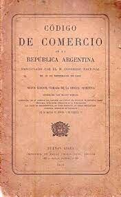 Sanción del Código de Comercio.