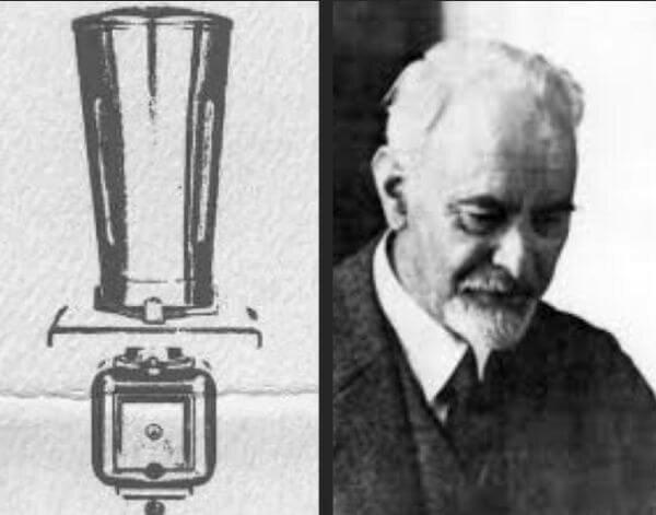 Invención de la licuadora