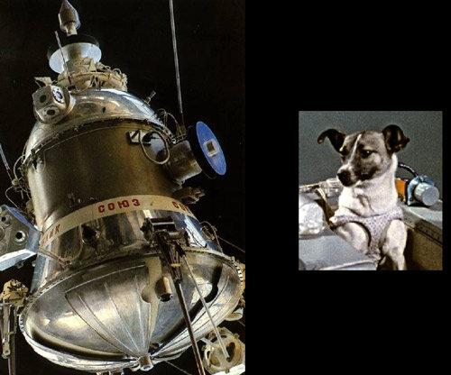 Sputnik 1 and Sputnik 2