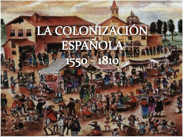 Antecedentes Coloniales