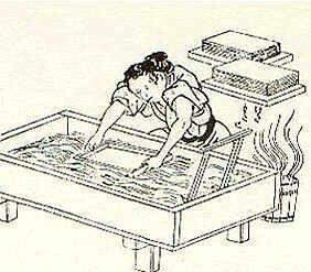 Invención del papel