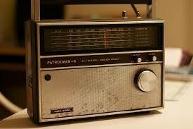 My first exposure to radio