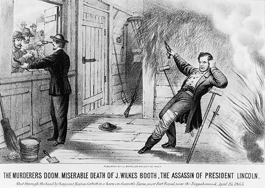 John Wilkes Booth is killed