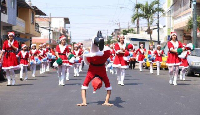 Bastonera Desfiles Navideños