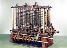 Máquina analítica o Máquina diferencial.