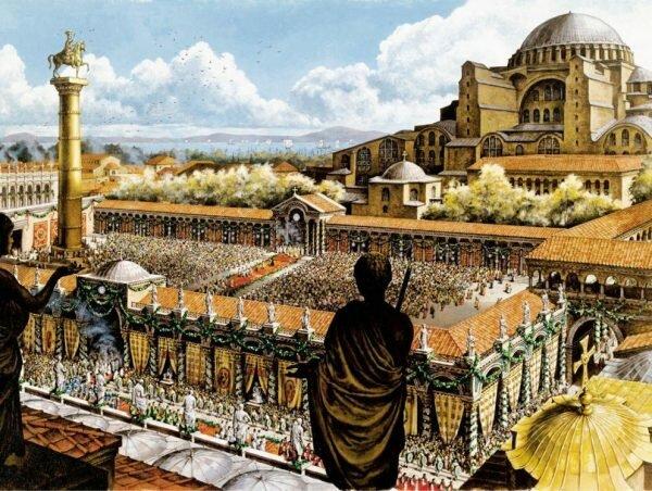 330 Fundación de Constantinopla