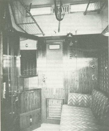 W. Gropius, tren coche-cama