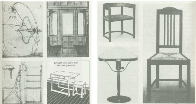 Muebles y objetos del catálogo