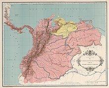 Independencia de Virregnat de Nova Granada