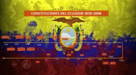 EVOLUCION DE LAS CONSTITUCIONES DEL ECUADOR DESDE 1830 HASTA EL 2008 timeline