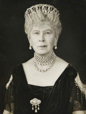 La emperatriz del Reino Unido