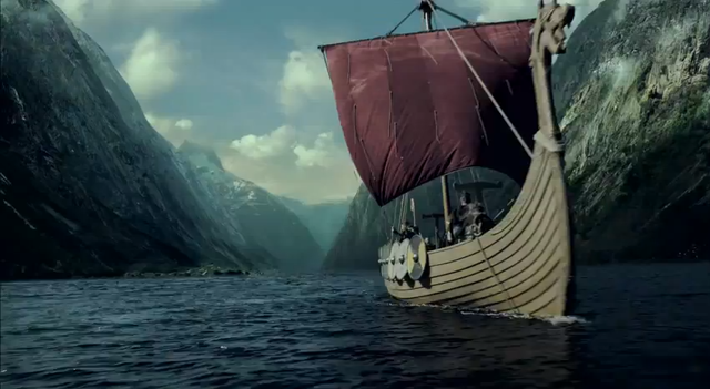 Ataque viking a Dorestad ( Holanda)