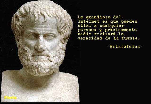 Aristóteles y las reglas silogismos