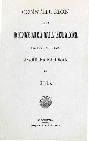 Constitución  de 1883