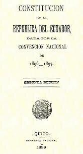 Constitución de 1897