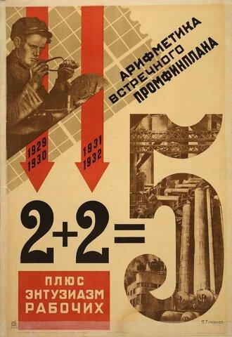 Primer plan quinquenal en la URSS