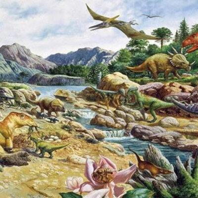Era Mesozóica timeline