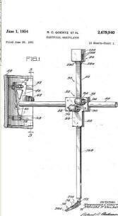 El primer brazo articulado teleoperado