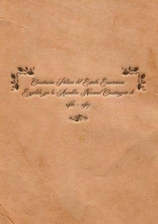 Constitución de 1967