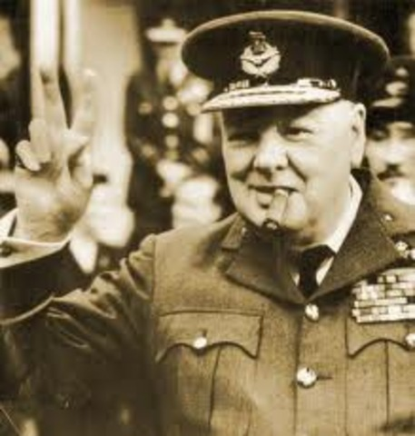 Churchill is appointed Prime Minister