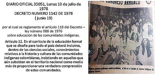 Decreto 1142 de 1978
