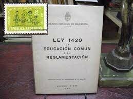 Derogación de la Ley 1420