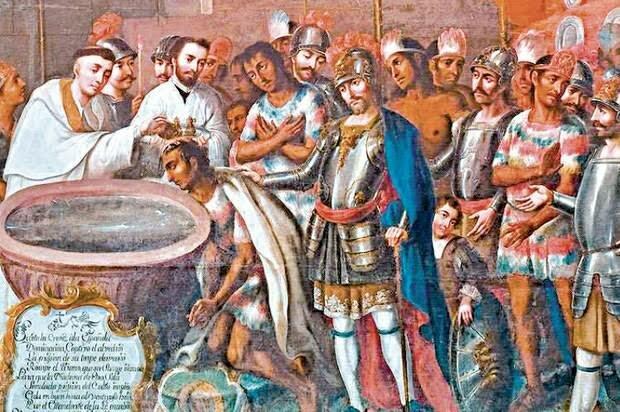 Año 1524-1533 procesos de evangelización