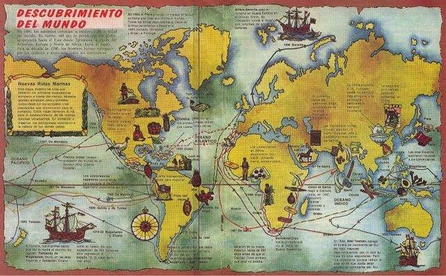 Año 1492 Nuevas rutas comerciales