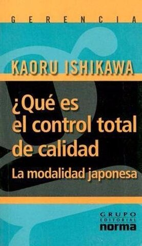 "Libro ""Control total de la calidad"""