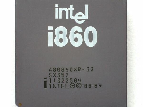 Intel i860 (Кайгородова В.В)