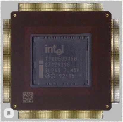 Intel Pentium MMX Mobile (Выполнила: Ворончагина А.)