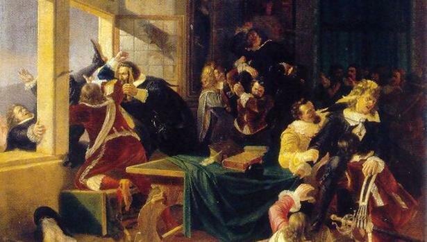 La defenestració de Praga