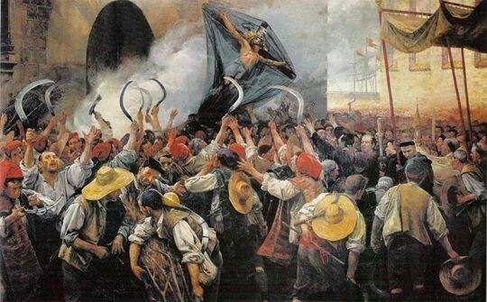 Guerra dels degadors / Sublevación de Cataluña
