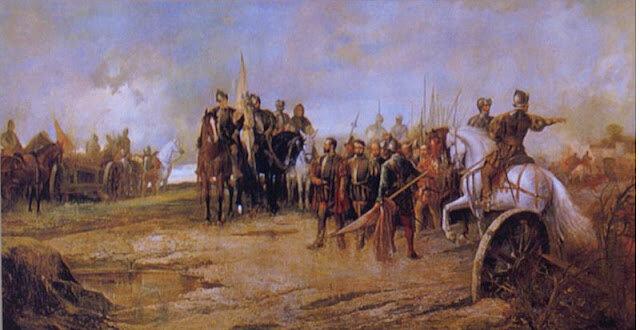 Carlos I: Revolta dels Comuners.