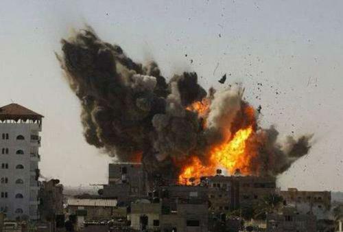 150多枚火箭弹从加沙地带射向以色列,以军重拳报复