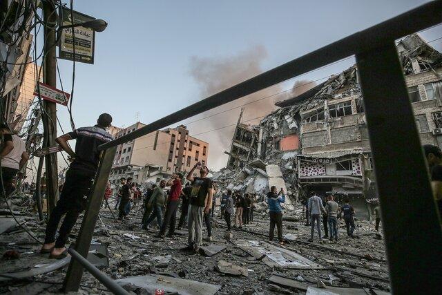 巴以冲突已造成至少65名巴勒斯坦人死亡,300多人受伤