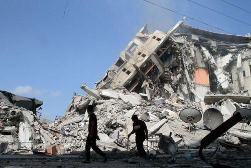 以色列军队轰炸加沙地带已致巴方35死233伤