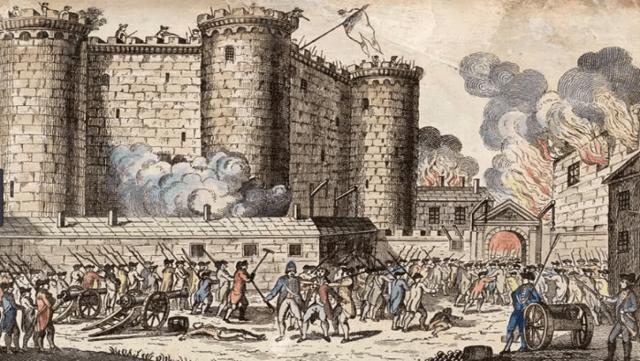 Integrantes de sectores populares asaltaran la prisión real de la Bastilla