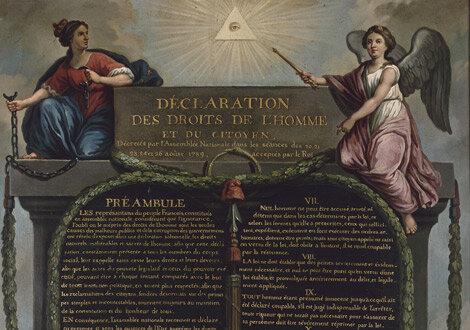 La Asamblea proclamó la Declaración de los Derechos del Hombre y del Ciudadano