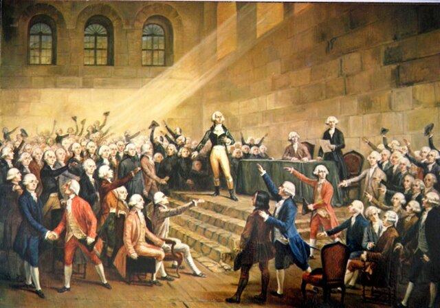 La Asamblea aprobó una Constitución que estableció una monarquía constitucional