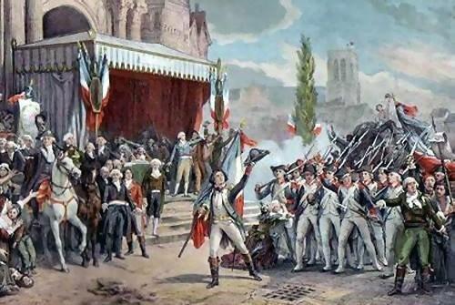 Francia declara la guerra a Austria y Prusia.
